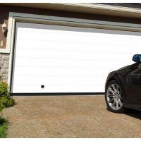 Brama Garażowa Segmentowa NICE Premium - AUTOMATYCZNA - BIAŁY