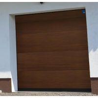 Brama Garażowa Segmentowa NICE Design- RĘCZNA - ZŁOTY BRĄZ