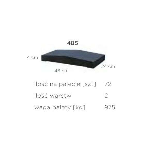 """Daszek Słupkowy 2x48S """"duży"""""""