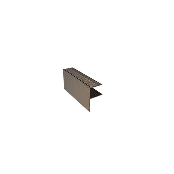 """Aluminiowa listwa schodowa ( szczotkowana) typu """"F"""""""