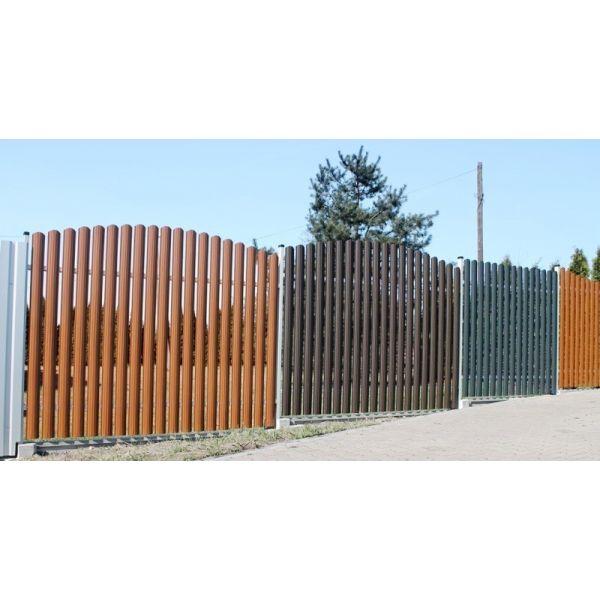 sztacheta metalowa, dwustronna, ogrodzenie stalowe