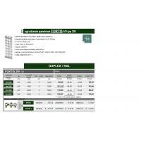Ogrodzenie Panelowe - FORTIS 5/5 typ 2W
