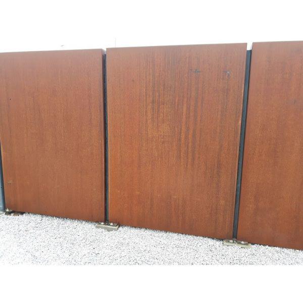 Ogrodzenie Corten