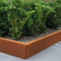 Obrzeże trawnikowe z cortenu H do 69cm
