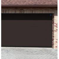 Brama Garażowa Segmentowa NICE Premium - RĘCZNA - BRĄZ CZEKOLADOWY