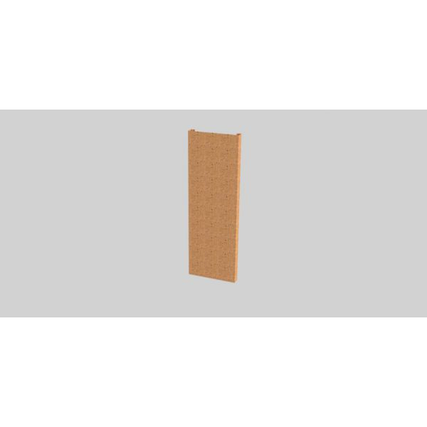 ogrodzenie korten rdzawa stal
