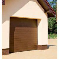 Brama Garażowa Segmentowa NICE Classic - RĘCZNA - BRĄZ SEPIA